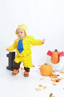 DIY Toddler Costume – Chick Magnet