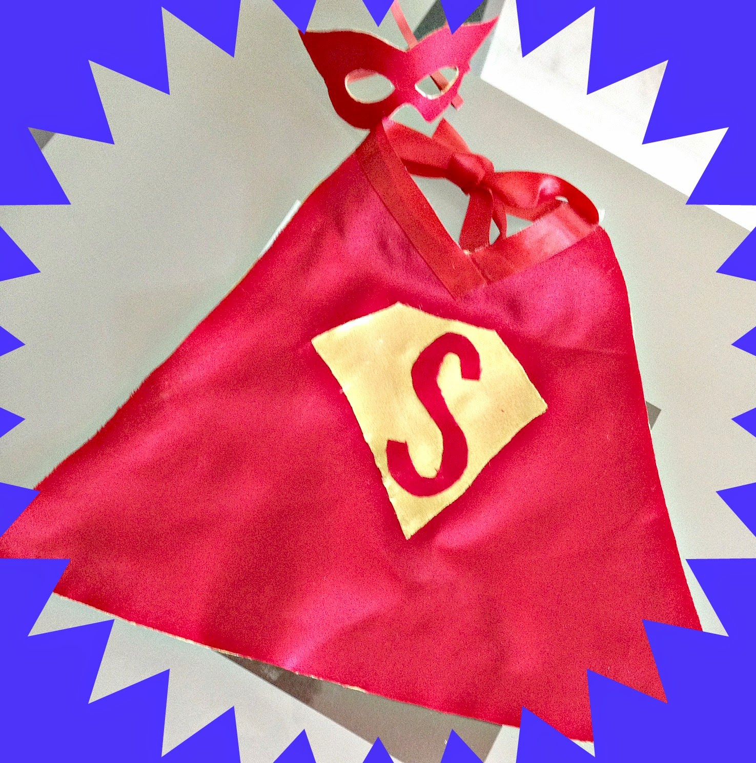 DIY Baby Super Hero Costume
