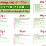 Easy Steps to Cleaning House for the Holidays