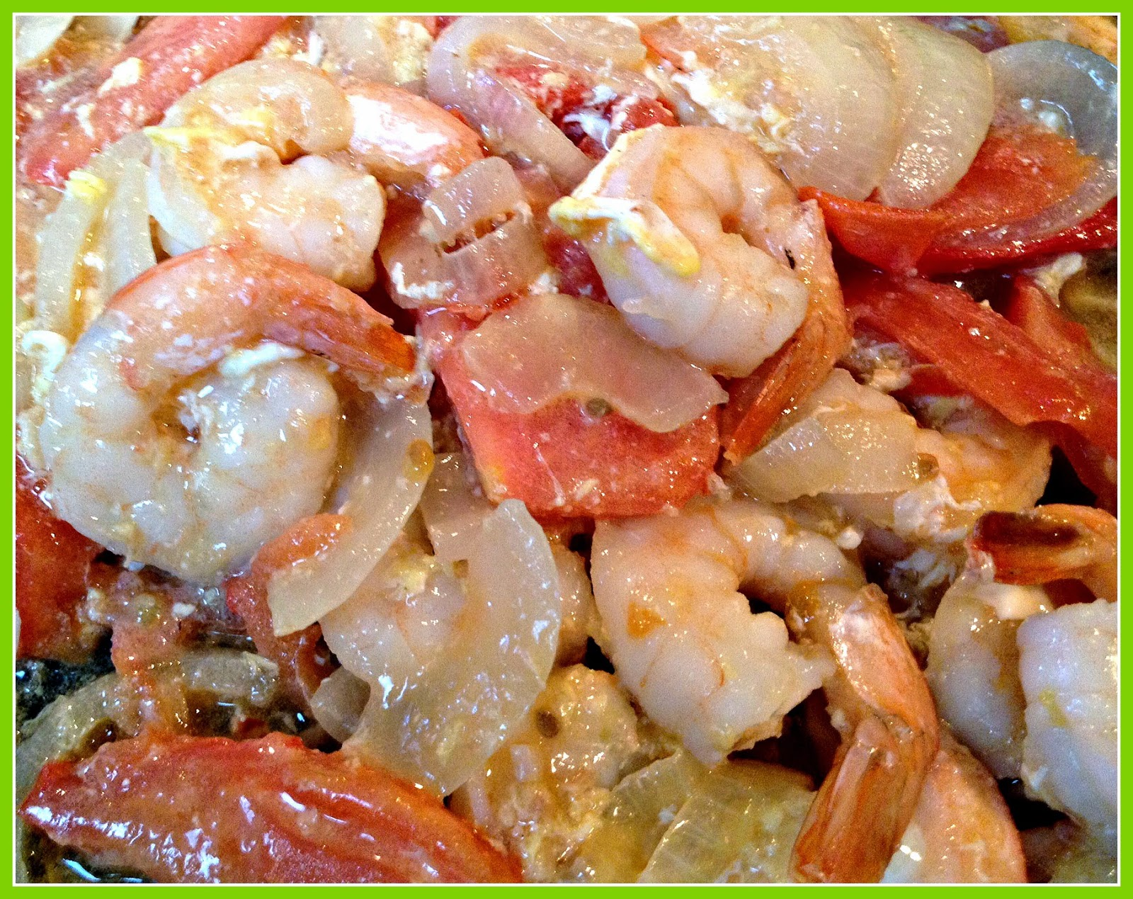Shrimp Sarciado – Filipino Recipe