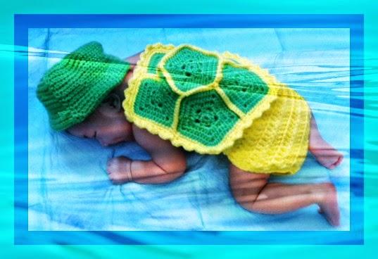 Turtle Photo Prop – Free Pattern