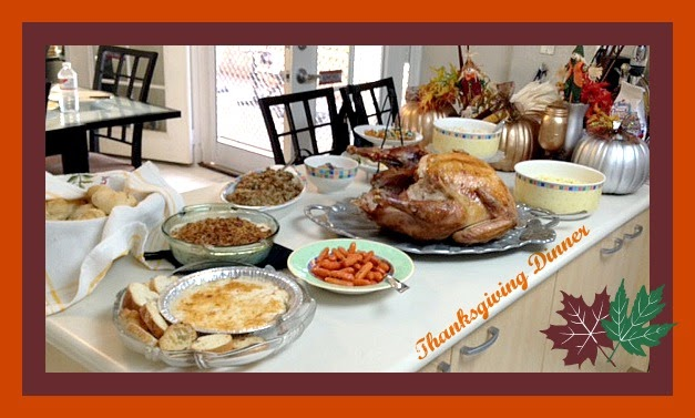 Savvy Nana's Thanksgiving Dinner Menu