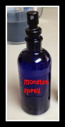 Monster Spray to Vanquish Bedtime Fears  – Free Printable