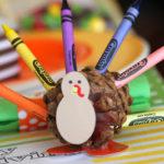 Kids' Thanksgiving  Craft Table