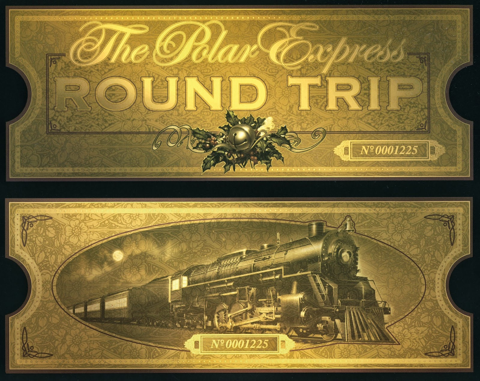 photo regarding Printable Polar Express Ticket named Polar Convey Video Evening - Cost-free Printable - Savvy Nana