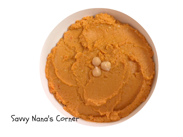 Sun Dried Tomato & Roasted Red Pepper Hummus