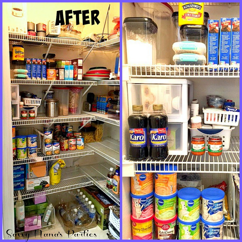 Organized Pantry And Pantry Tips: 6 Tips For Organizing Your Pantry