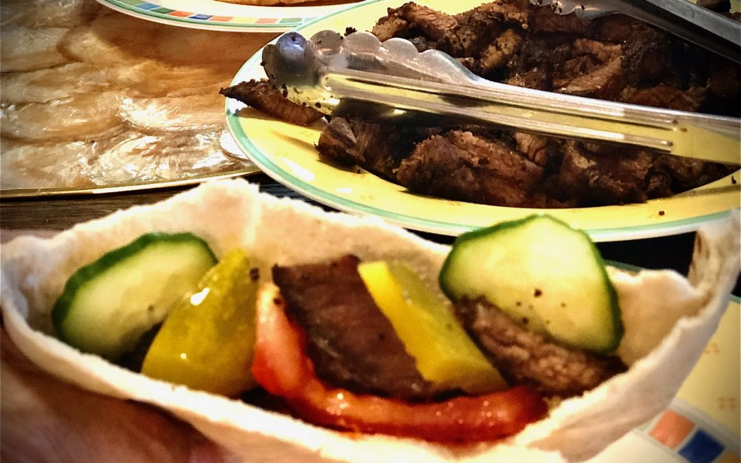 Easy Beef Shawarma Wrap Recipe