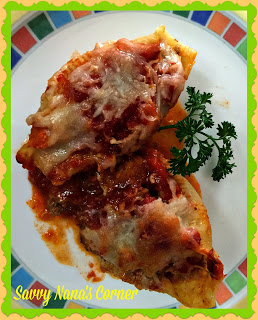 Beefy Stuffed Pasta Shells