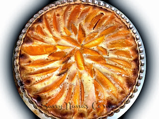Mango Custard Tart
