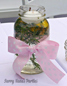 DIY Citronella Jars – Pretty & Inexpensive