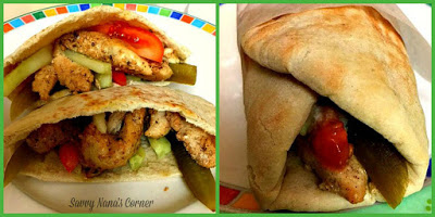 Easy Chicken Shawarma Sandwich