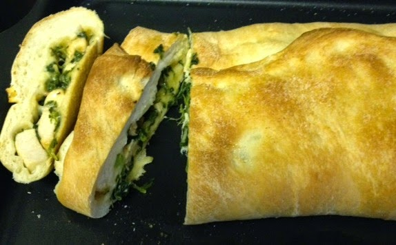 Stromboli – Chicken/Spinach/Broccoli