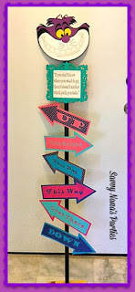 photograph about Free Printable Arrows known as Do-it-yourself Alice in just Wonderland Directional Indicator Short article - Absolutely free