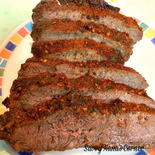 Seasoned Flat Iron Steak