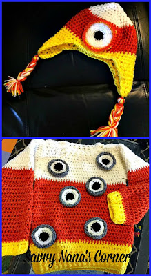 "Crochet Toddler Halloween Costume – ""Eye Candy"""