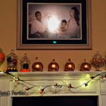 Inexpensive Fall Mantel Decorations
