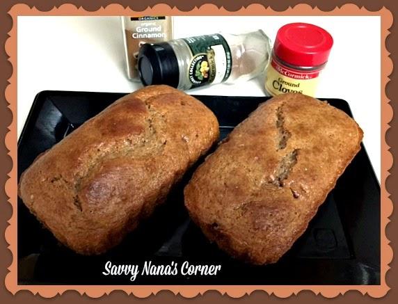 Caramel Spice Mini Loaf Cakes