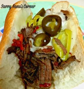 Italian Beef Hoagie – Yum!
