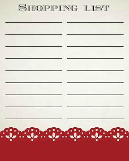 Get Ready for the Holidays – FREE Printable Shopping List