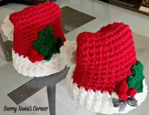 Thick and Fluffy Santa Hat - Free Pattern - Savvy Nana 64abca1d3385