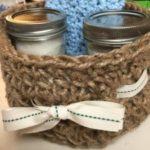 Crocheted Jute Twine Basket – Free Pattern