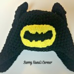 Batman Hat - Free Pattern