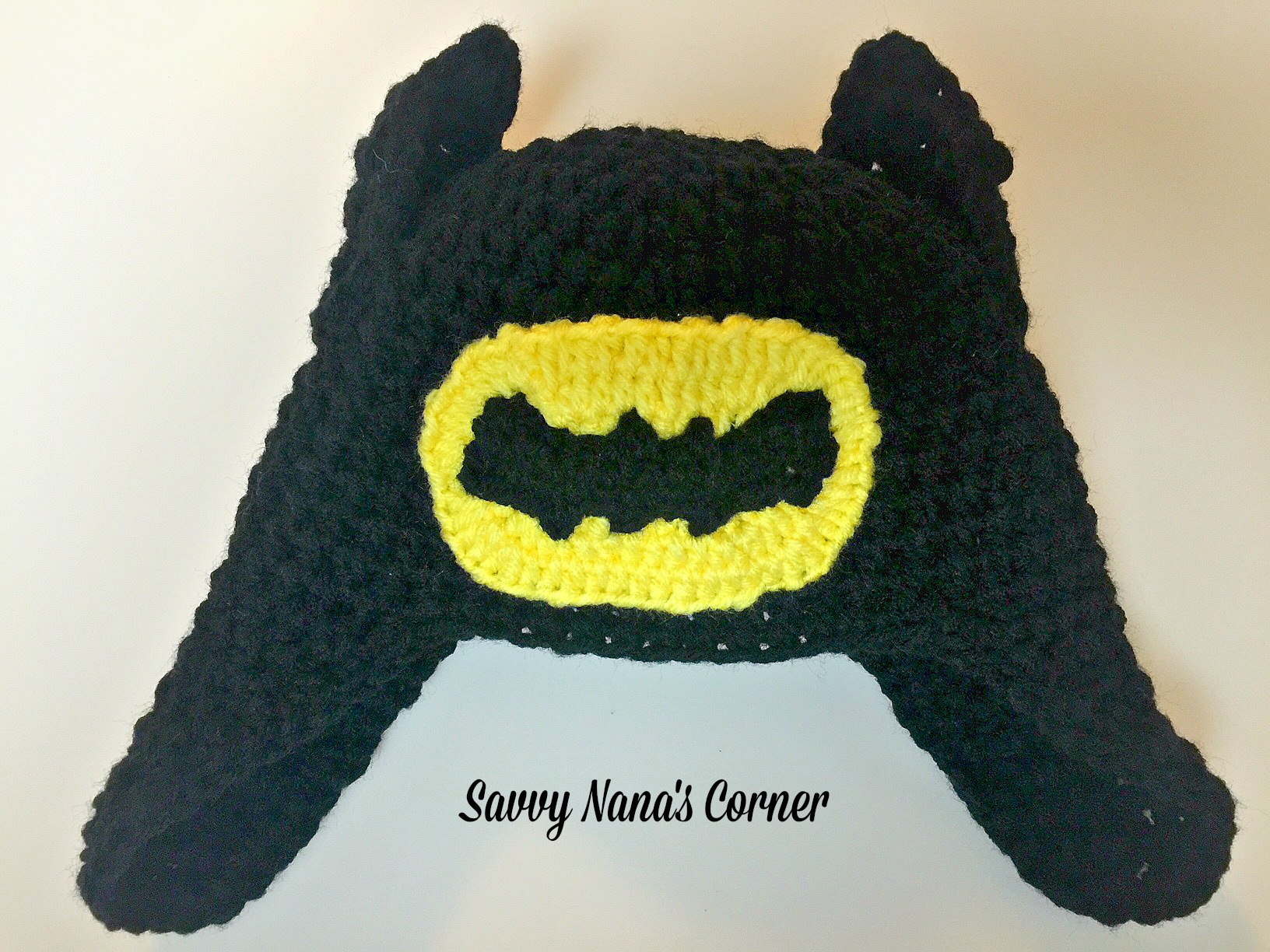 Batman Hat - Free Pattern - Savvy Nana