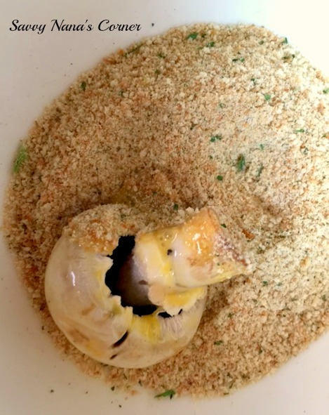 Crunchy Mushroom Poppers