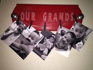 DIY Gilded Photo Hangers
