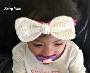Picot Baby Headband