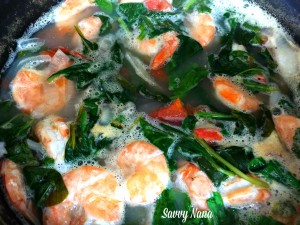 Shrimp Sour Soup