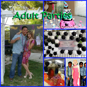 Adult Party Collage