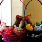 DIY Stenciled Easter Basket