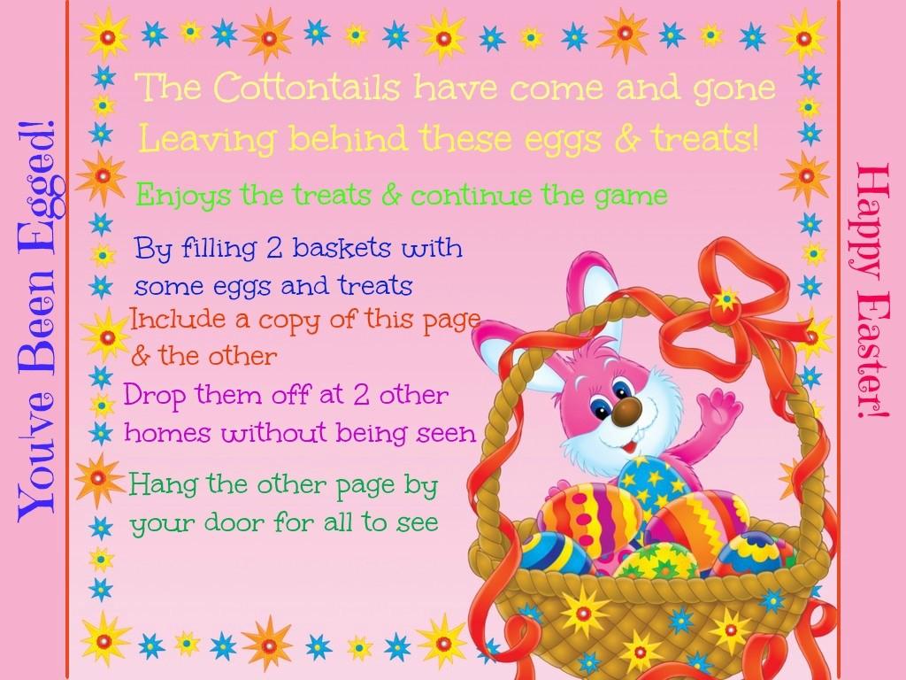 Easter Neighborhood Game