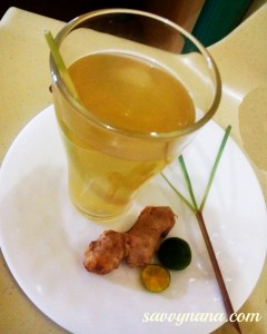 Lemon Grass Ginger Cold Tea