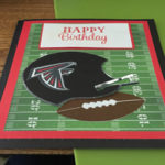 Football 8th. Birthday Card – Free Printables