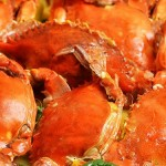 Crab in coconut milk