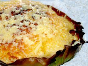 Bibingka Galapong (Glutinous Rice Flour Cake)