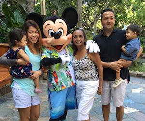 Disney's Aulani Resort & Spa Character Breakfast