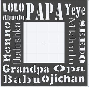 Grandfather stencil