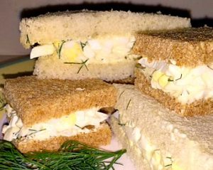 The Best Egg Salad Tea Sandwiches