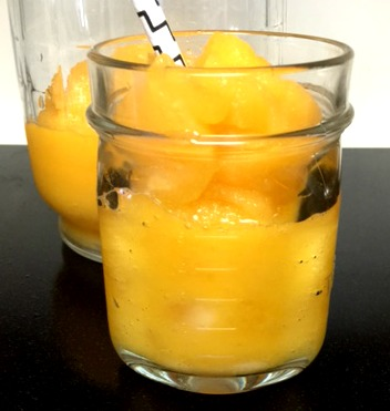 Frozen Mango Lemonade & Simple Syrup Recipe