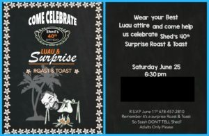 themed invitation