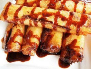 Kamote Turon – Lumpiang Kamote (Sweet Potato Roll) Recipe