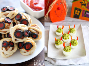 Ghoulishy Fun Halloween Appetizers