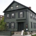 Lizzie Borden House Falls River, Massachusetts Courtesy of Haunted Places