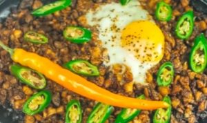 Sizzling Chicken Sisig Recipe!!!