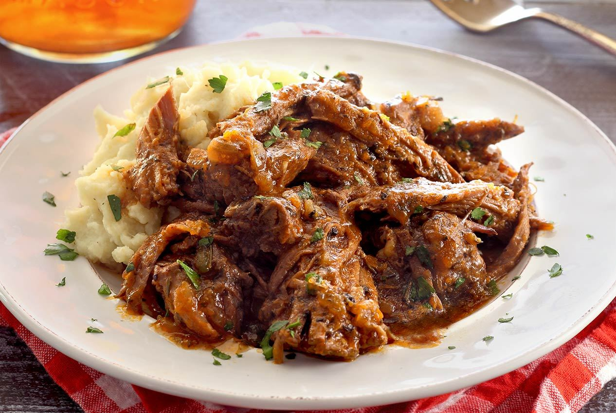 Italian Herb Slow Cooker Pot Roast