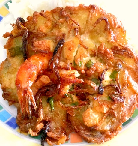 Bean Sprout & Tofu Shrimp Fritters – Ukoy